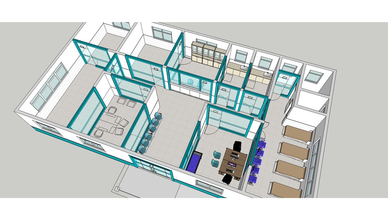 项目名称: 南通高新区村卫生室 项目地址: 南通市通州高新区 类 型: 办公建筑 面 积: 3200 主要材质: 瓷砖、铝塑板等 设计说明:为更好的为广大群从服务,南通高新区的村及各大小区及村落统一建设卫生室,每个卫生室的设计面积约250平面米。因受每个卫生室的面积大小及建筑的限制,设计师在设计中主要考虑功能的使用,空间布局的合理性,以现代简约的设计手法来展现设计成果。